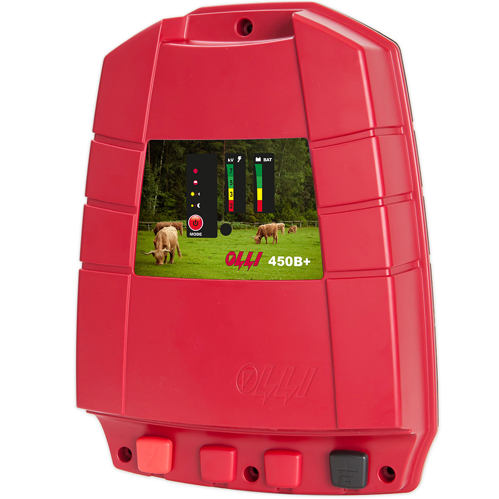Olli 450B+ Battery operated energiser with 3,0J output energy