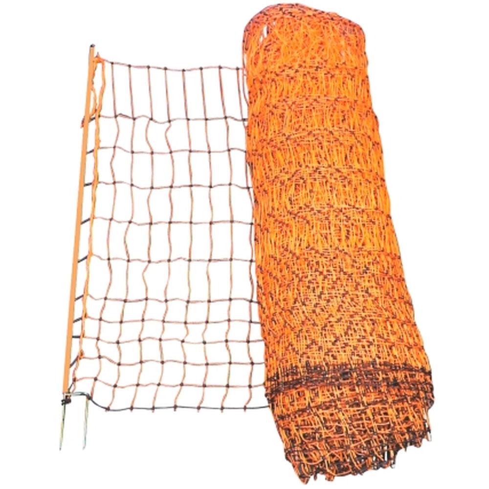 Olli kanaverkko sähköistettävä 112 cm korkea, 50 metriä rullassa Poultry net