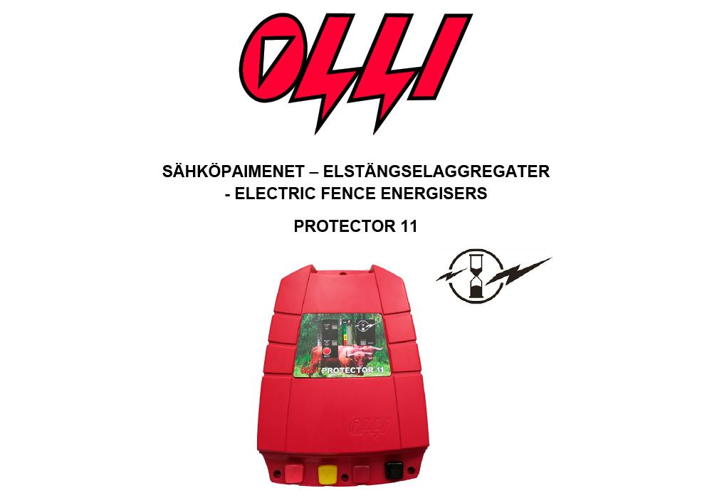 Olli Protector 11 käyttöohjeen kuvake
